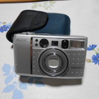 フジ SUPER 1200 フィルムカメラ