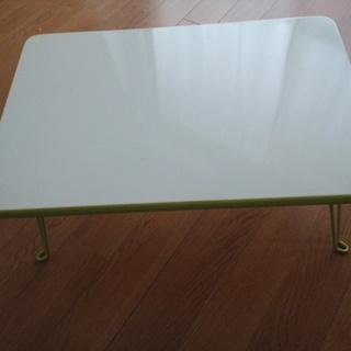 折脚ローテーブル 45*30*19.5cm グリーン