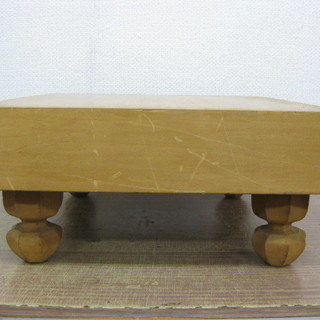 囲碁盤 足付き碁盤 約45cm×約42cm