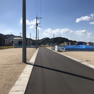 倉敷市片島町 希少な16区画建築条件無の分譲地