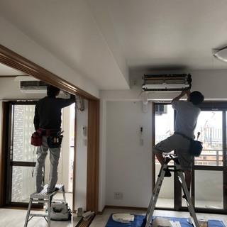 住宅、店舗、事務所のエアコンクリーニング。沖縄 暖房
