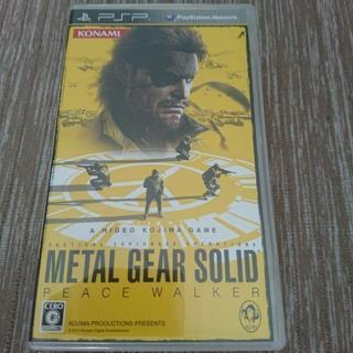 PSP  METAL GEAR  SOLID PEACE WALKER