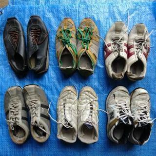 履き潰した靴6足セット