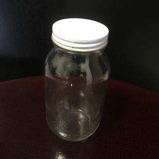 ふた付きガラス瓶 容量900ml