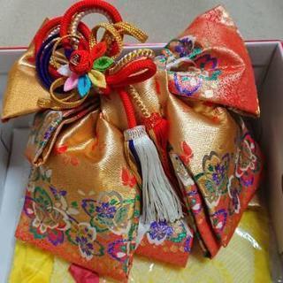 七五三 結婚式 3歳〜7歳セット 7歳草履、羽飾りプレゼント