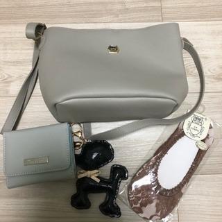 〈新品未使用〉バッグと財布、靴下とチャームのセット