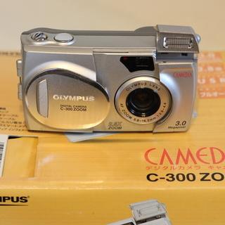 デジカメ OLYMPUS C-300 ZOOM