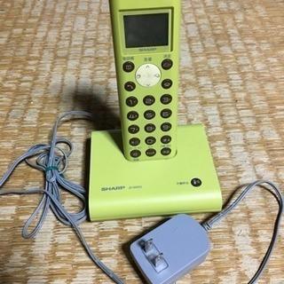 シャープ コードレス電話