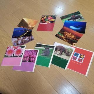 新品未使用❗タイ お土産 ポストカード7枚 メッセージカード5枚