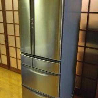 ナショナル 冷蔵庫 525L きれいです