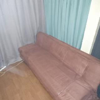 ソファーベッド 中のクッション入替え済み