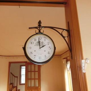 再投稿  ★ antique調の壁掛け時計