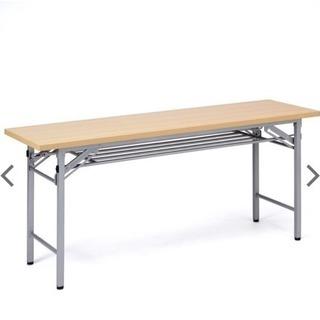 折りたたみ机 各種教室 会議用に 2台セット