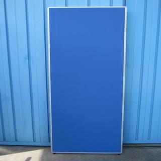 パーテーション ブルー W900 H1800 ※片面安定脚4本お...