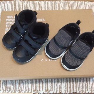 ベビー靴 2足セット13.5cm