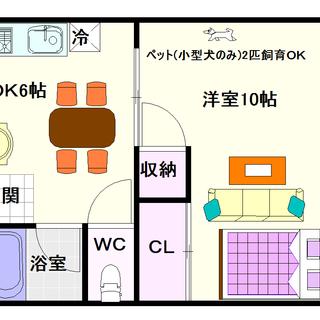 【吉村ハウス】2号タイプ!1DKタイプ!ペットOKですよ☆