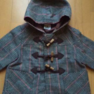 子供服 ツイードダッフルコート 80センチ