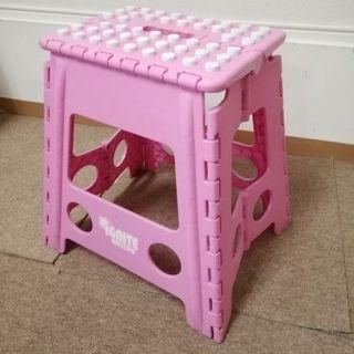ピンクの踏み台