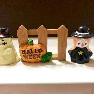 【新品】ハロウィン置物