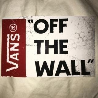 正規 VANS バンズ♪OFF THE WALL シール ステッ...