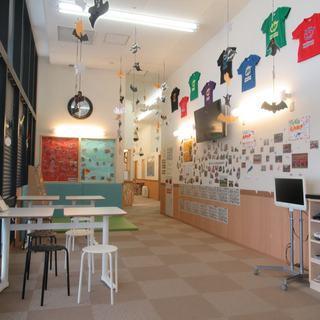 ホームセンタームサシの2階にある英会話教室 ユニバーサルキャンパ...
