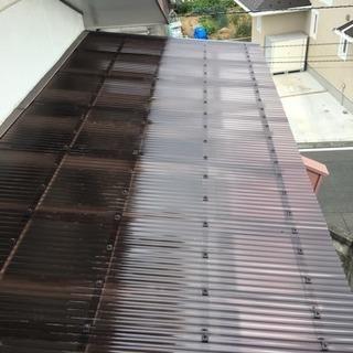 雨樋や屋根の点検修理