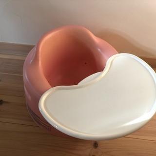 バンボ BAMBO 薄ピンク テーブル付き