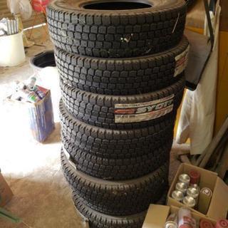 新品 バン 小型トラック用 スタッドレス タイヤ 155 R13...