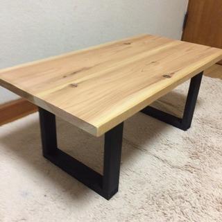 値下げ 無垢材を使ったカフェテーブル