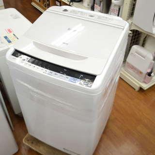 HITACHI(日立)の簡易乾燥機能付洗濯機(BW-V70A)20...