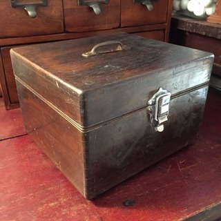 アンティーク 木製小箱