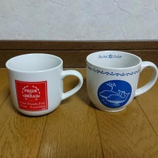 マグカップ2個