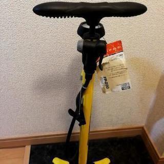 自転車の空気入れ 英仏バルブ兼用