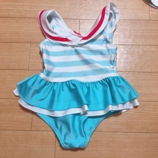 7a464734e98 ベビー 水着 女の子 80 (湯気) 掛川の子供用品の中古あげます・譲ります ...