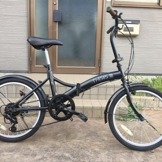 折りたたみ自転車 20インチ THISIS (501)