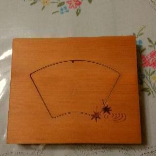 木製 押し型 扇形