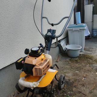家庭用 小型 耕うん機 エンジン式 歩行型 RYOBI リョービ ...