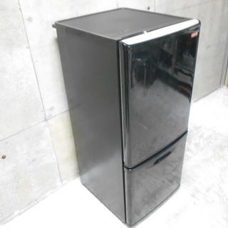 パナソニック 2ドア冷蔵庫 NR-BW144C-K『良品中…
