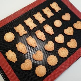 サクサク&ツルツルフラットなクッキーの作り方レッスン - 姫路市