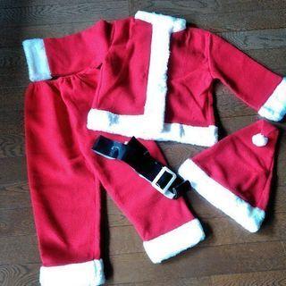 美品  サンタクロース クリスマス 服