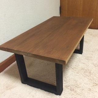 お買得 無垢材を使用 アンティーク調テーブル