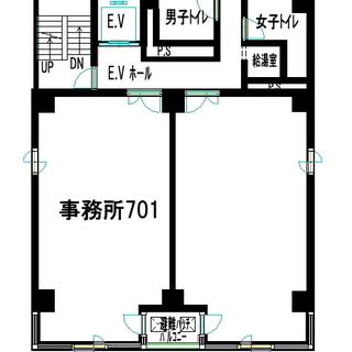 東梅田駅徒歩5分の事務所ビルです。