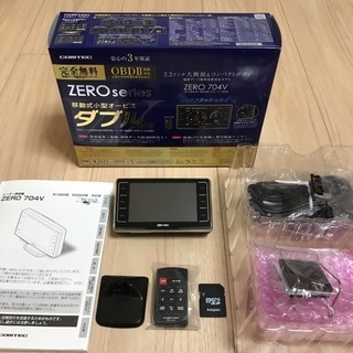 値下げ 美品 COMTEC コムテック レーダー探知機 ZERO...