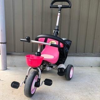 ides 折りたたみ 三輪車 ピンク