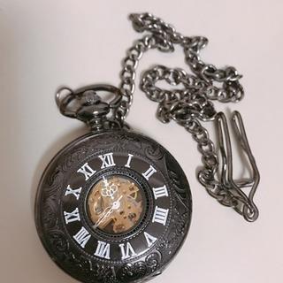 MONOZY 機械式 手巻き 懐中時計
