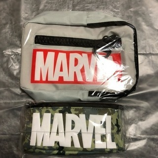 🉐MARVELボディバッグ&ポーチの2点セット