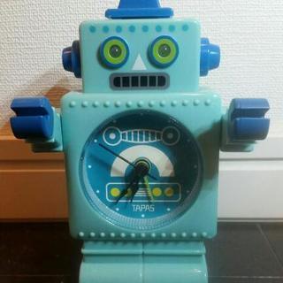 ロボット型 目覚し時計