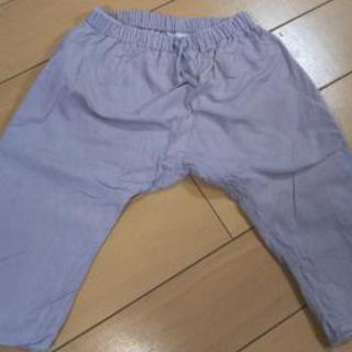 【美品】プチバトー 女児ズボン 74㎝ベージュピンク