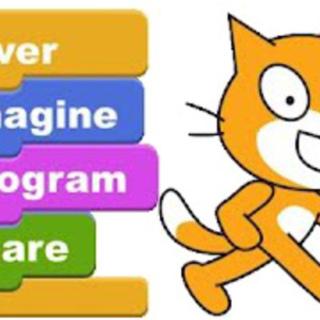 子どもたちにSCRATCHでプログラミングを教えるボランティア
