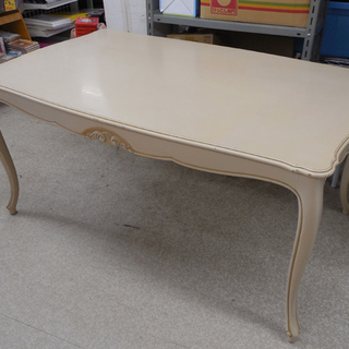Karimoku/カリモク ダイニングテーブル テーブルのみ 彫刻...